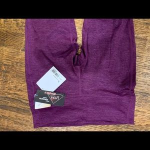 NWT Purple Capri Leggings